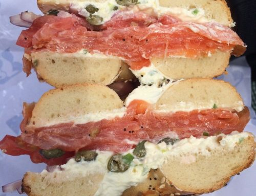 Breakfast Favorite – Lox and Cream Cheese